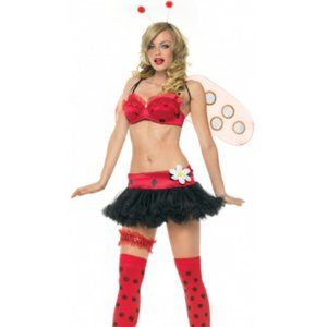 6PC. Lady Bug Halloween Costume